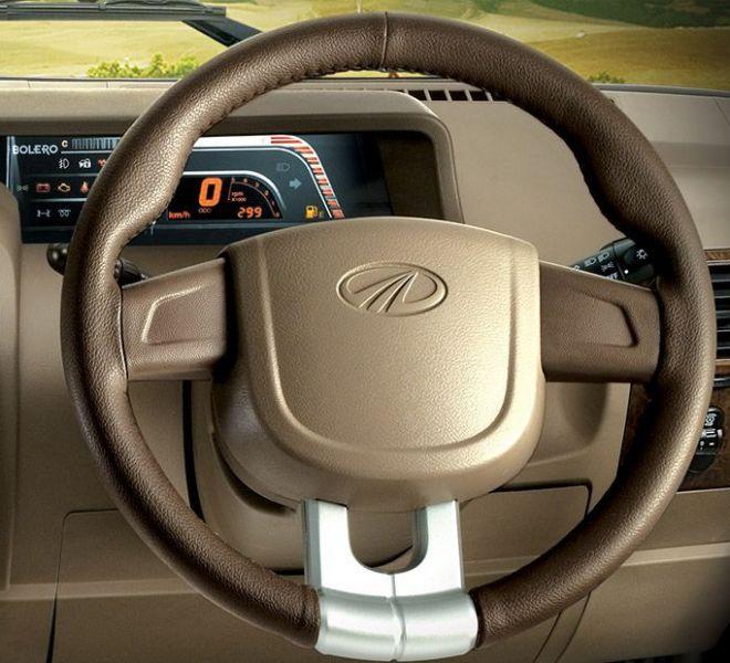 Automotive Mahindra Bolero Interior-6
