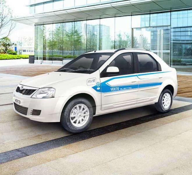 Automotive Mahindra E-Verito Exterior-1