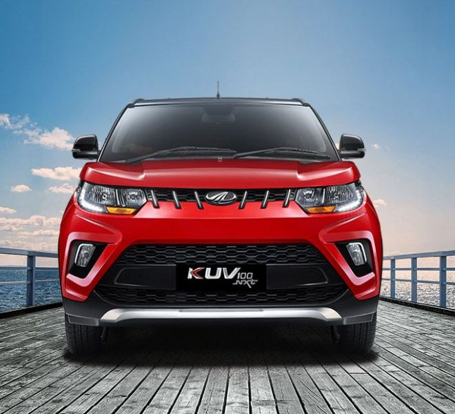 Automotive Mahindra KUV 100 NXT Exterior-1