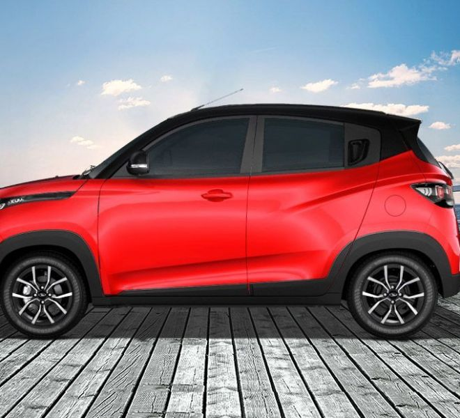Automotive Mahindra KUV 100 NXT Exterior-3