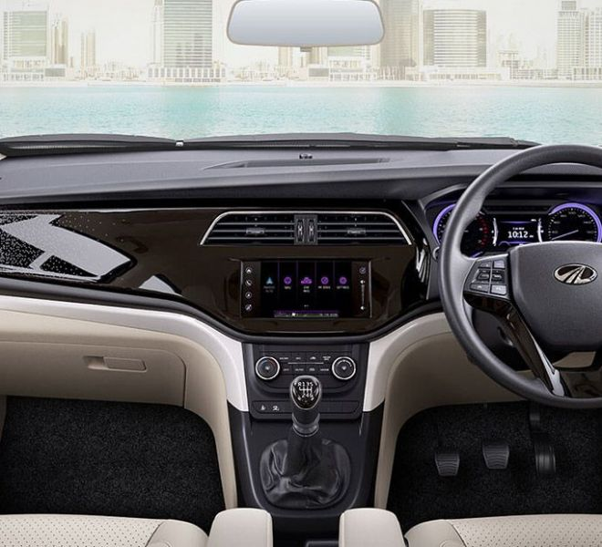 Automotive Mahindra Marazzo Interior-1