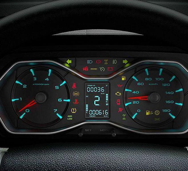 Automotive Mahindra Scorpio Interior-8